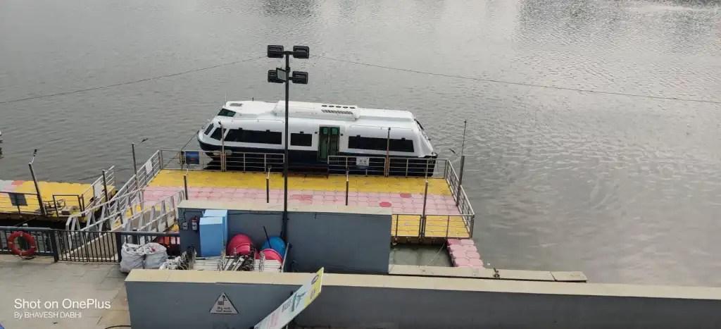 Cruise riverfront