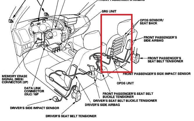 srs wiring diagram 2003 odyssey