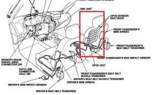 HondaAcura Airbag Code 81 andor 85  MyAirbags  Airbag Reset & Seat Belt Pretensioner Repair