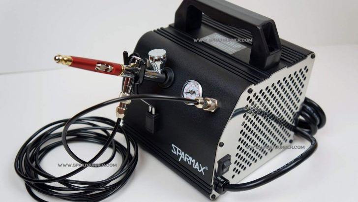 Sparmax AC27 Airbrush Compressor Review