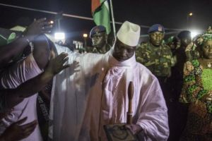 Mr. Yahya Jammeh has been in power for 22 years