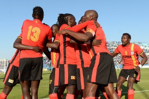 Uganda, celebrating a goal against Botswana, is one of the teams that are likely to benefit the most from the coming World Cup expansion. Credit Monirul Bhuiyan/Agence France-Presse — Getty Images