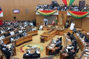 Ghana's Parliament in Session