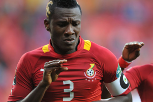 Black stars captain, Asamoah Gyan