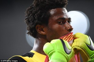 Razak Brimah, Black Stars Number goalkeeper and second-choice goalkeeper of Spanish second-division side, Cordoba