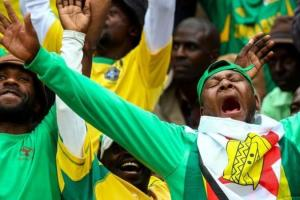 Zimbabwe fans hope they will have something to celebrate in Gabon.