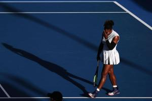Williams made 88 unforced errors against her fellow American Getty