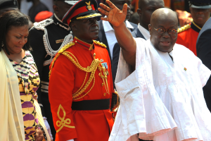 President Akufo- Addo at Ghana @ 60 celebration