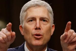 Gorsuch's nomination went through a Senate Committee on Monday