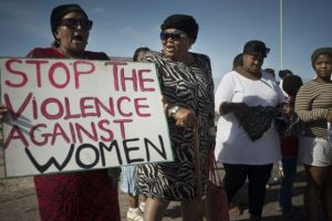 More than 60,000 cases of rape are reported in South Africa every year