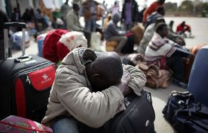 Deportees from Libya