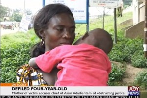 Defiled 4 year old girl and her mother