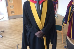 Dr. Ibrahim M. Gunu, Coordinator of Post Graduates Programme of the Faculty of Education, UDS.