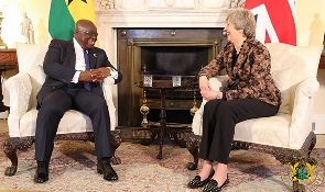 President Akufo-Addo and Theresa May