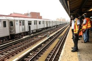 NYC Transit suspended lines to remove her body