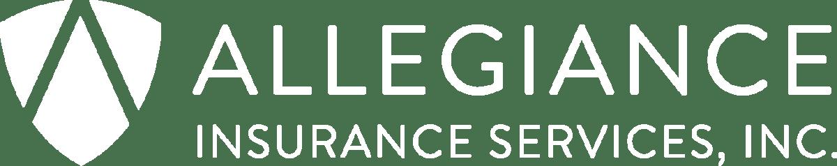 Allegiance Insurance Full 2018 White Logo