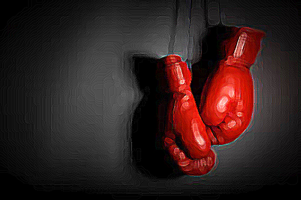 20 questions aggression Boxing gloves