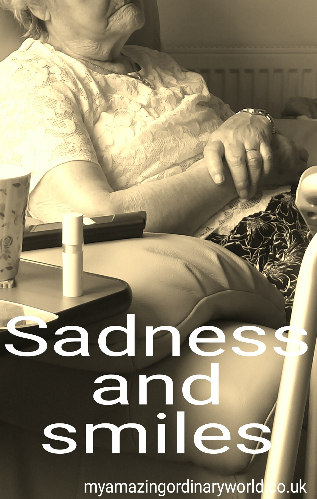 Sadness and smiles