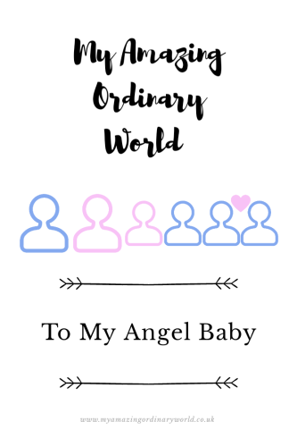 Post title: To my angel baby.