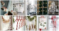 Promising Christmas Window Treatment That You Shouldn't Miss