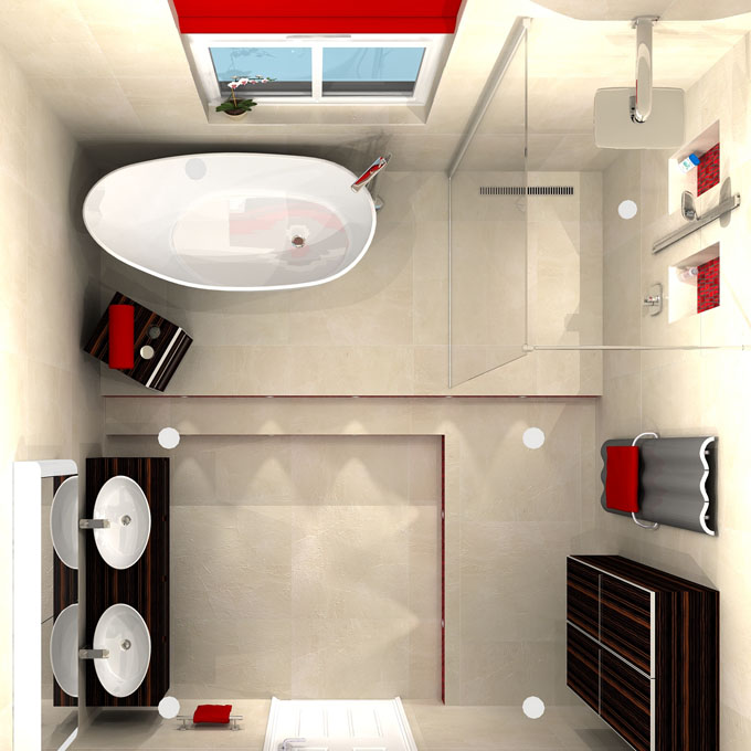 25 Impressive Small Bathroom Ideas  Page 3 of 4