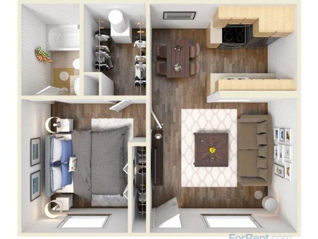 15 Smart Studio Apartment Floor Plans  Page 3 of 3