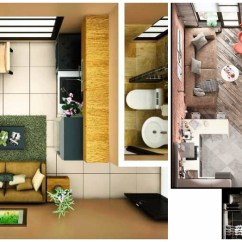 Corner Sofa Plans Flip Out Foam 15 Smart Studio Apartment Floor