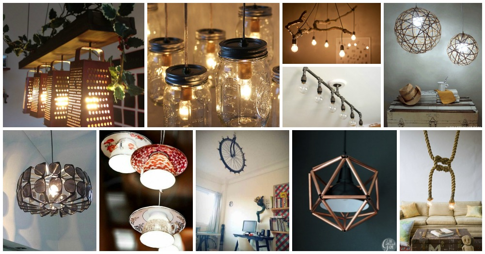Repurposed Light Fixtures