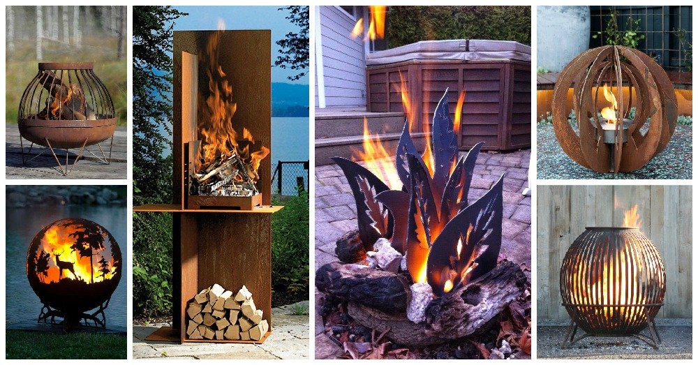 10 Unique Fire Pits That Will Make You Say Wow