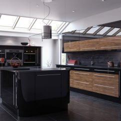 Kitchen High Table And Chairs Space Saving Ultra Modern Sleek Black Wood Kitchens - Page 3 Of