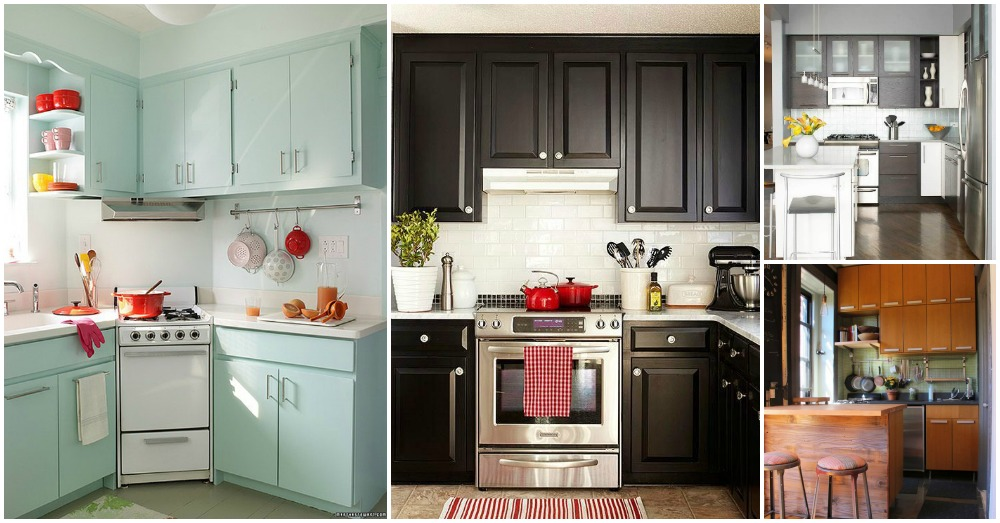 Small Narrow Kitchen Design Ideas
