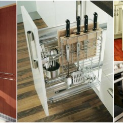 Small Kitchen Refrigerator Refurbished Table Vertical Drawers To Get The Most Of Your Space ...