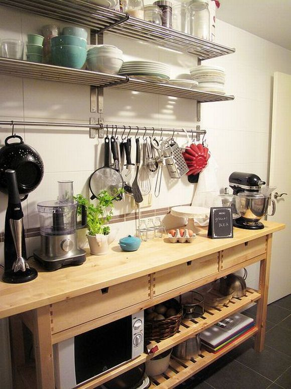 ikea kitchen bar needs the best hacks to help you organize your