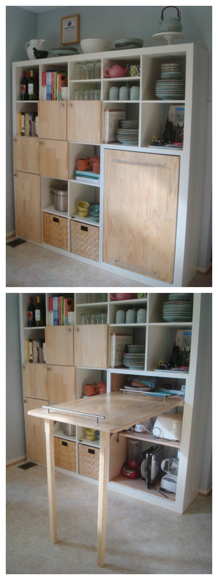 kitchen appliances set hutch buffet the best ikea hacks to help you organize your ...