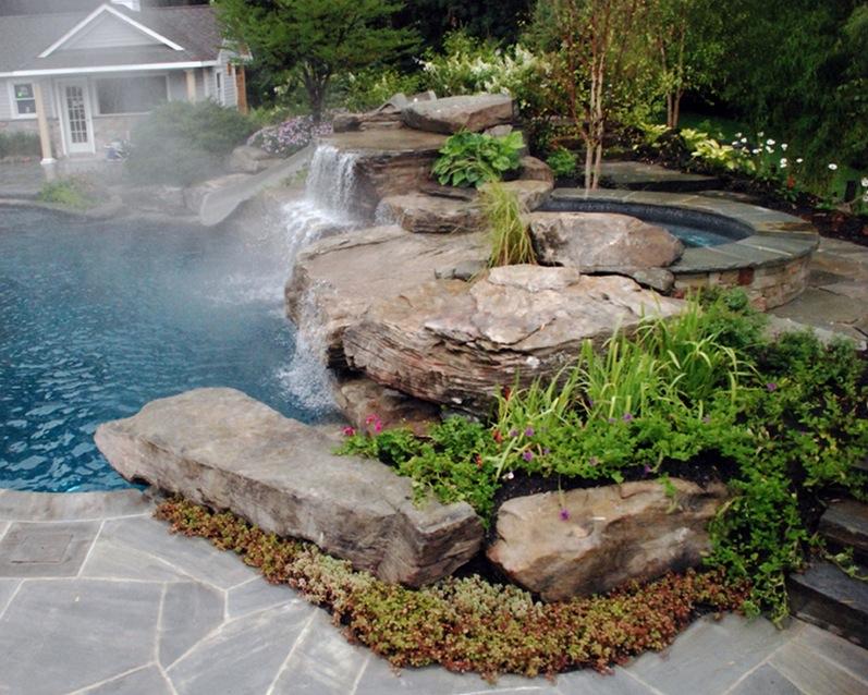 Rocks Garden Large Decorative
