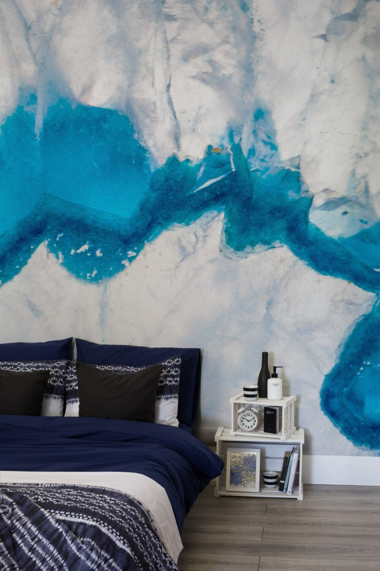 3d Crystal Wallpaper Geode Wall Is Something That You Will Fall In Love With