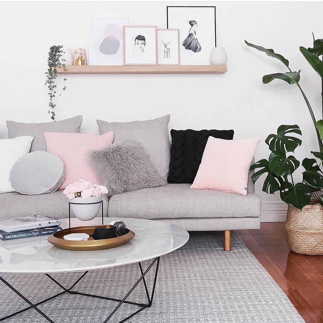 Salon Scandinave Pastel - Décoration de maison idées de design d ...