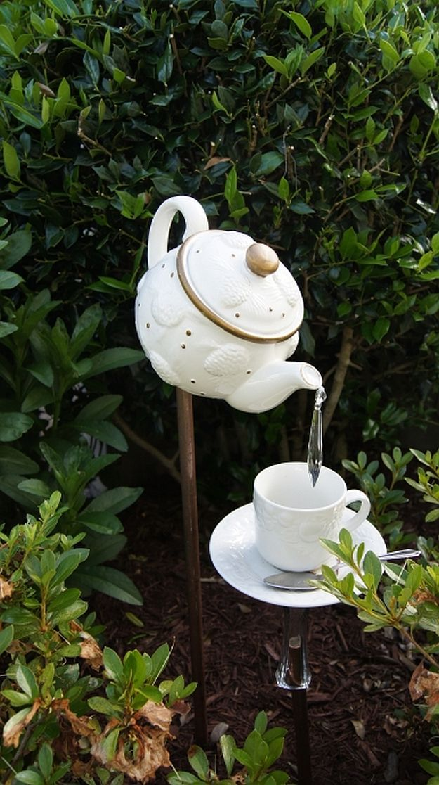 Garden Decor Tips How To Achieve Cool Water Dripping Effect