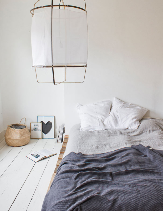 Bed On Floor Is A Great Idea For A Budget Friendly Bedroom