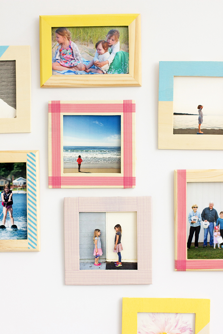 Cheap And Easy DIY Tape Frame Ideas To Display Your Collection