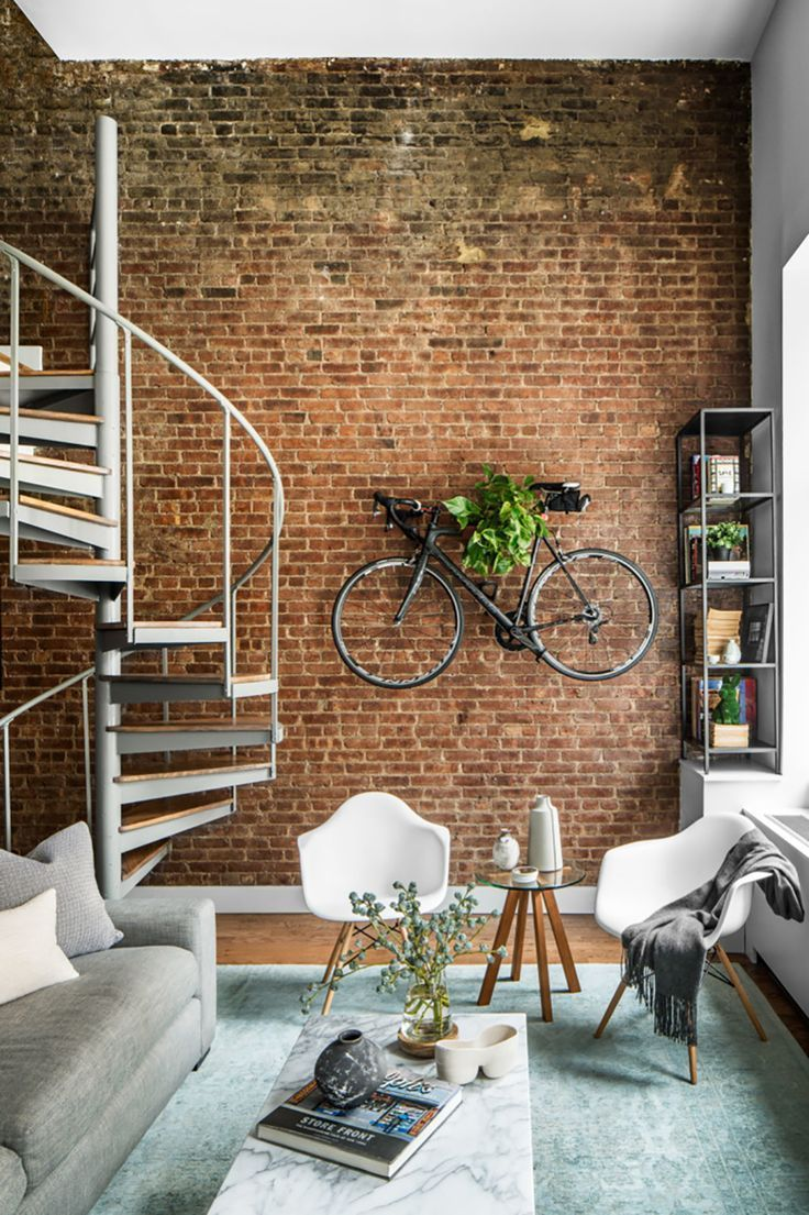 Charming Exposed Brick Interiors That Look So Warm And