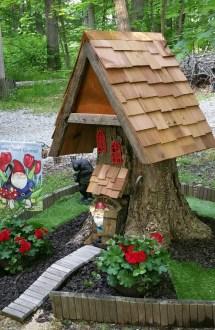 Tree Trunk Ideas Make Excellent Decor Garden