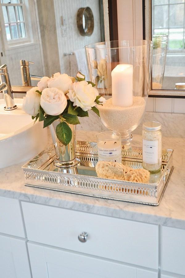 Bathroom Vanity Tray Ideas For Organizing In A Sleek Way