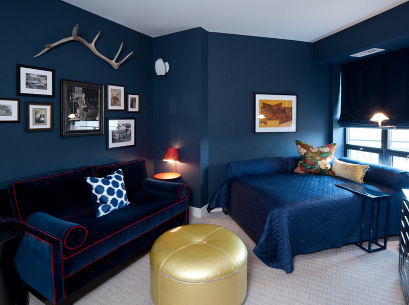 Planning a kitchen remodeling project? Navy And Gold Interiors That Prove The Best Combo For An Elegant Home - Page 2 of 3