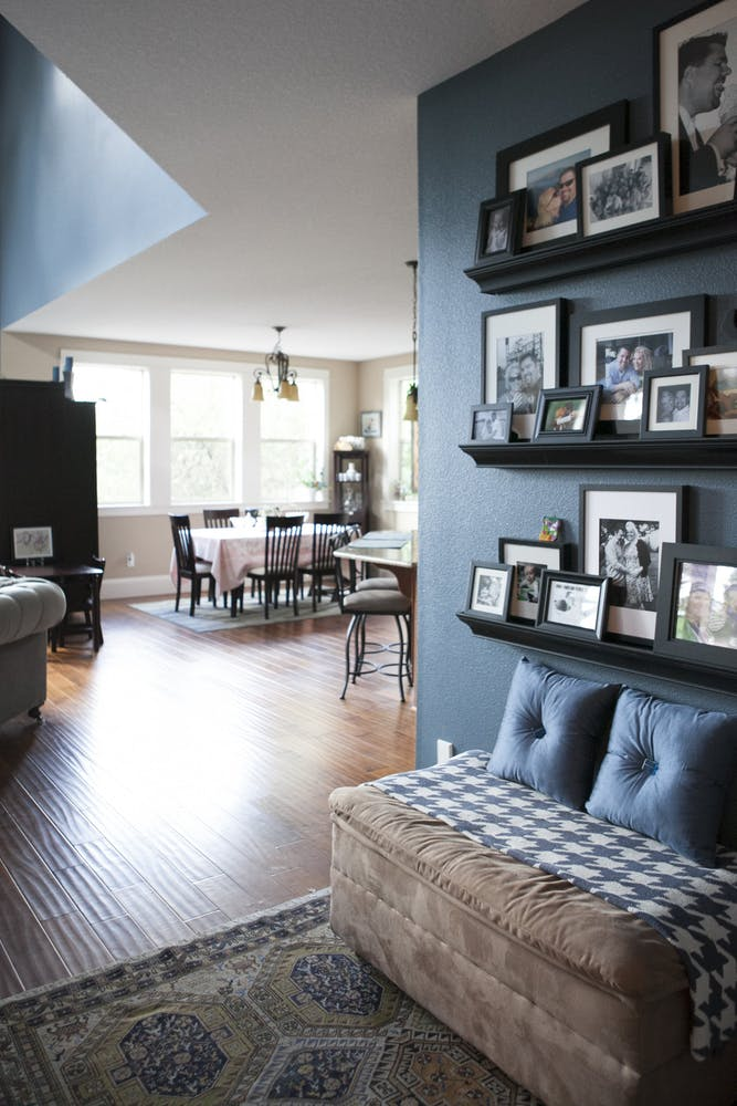 Amazing Picture Ledge Ideas For Creating A Statement Wall