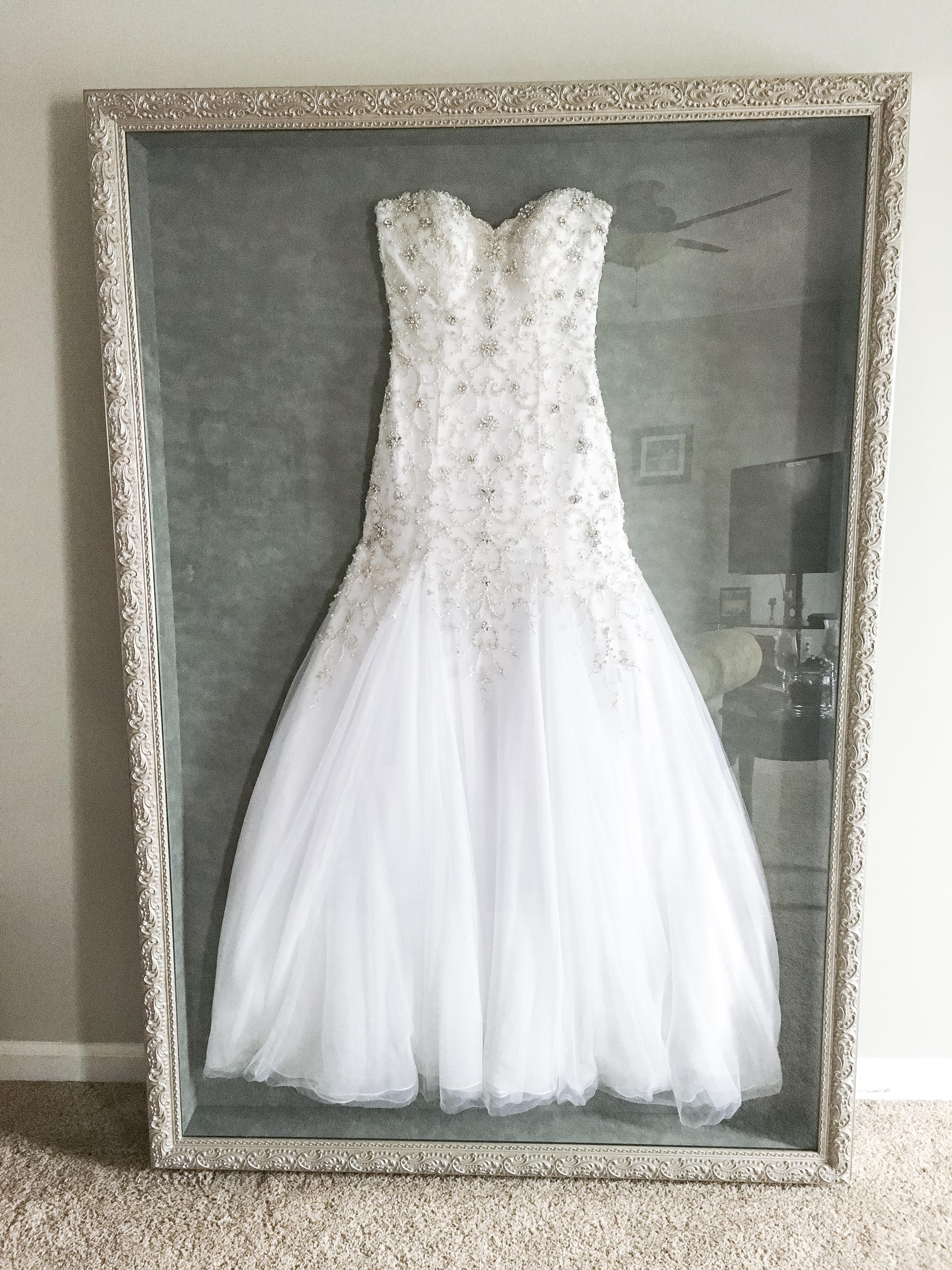 Wedding Dress Frame Ideas To Preserve Your Precious Memories  Page 2 of 2
