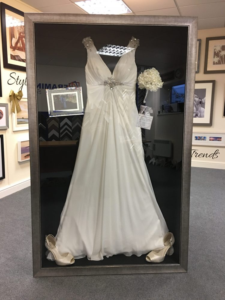 Wedding Dress Frame Ideas To Preserve Your Precious
