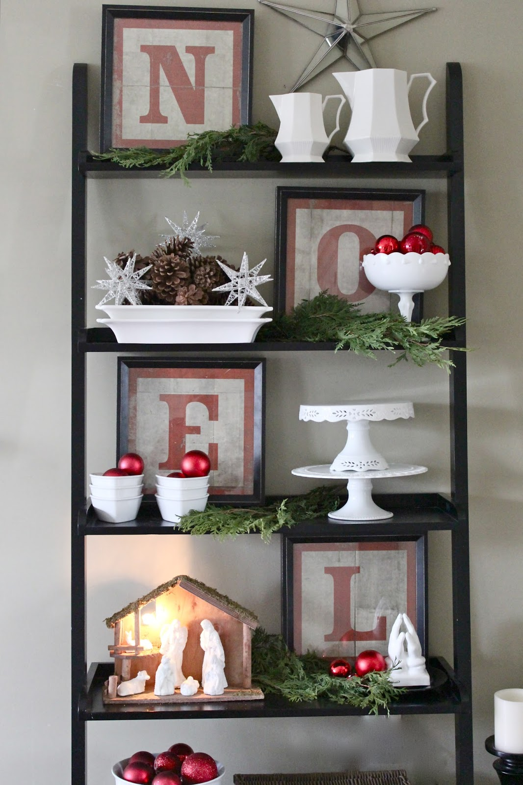 You Cant Stop Staring At These Stunning Christmas Shelf