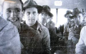 German rocket scientists on a bus to Ft. Bliss, TX