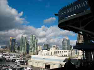 San Diego seen from the USS Midway